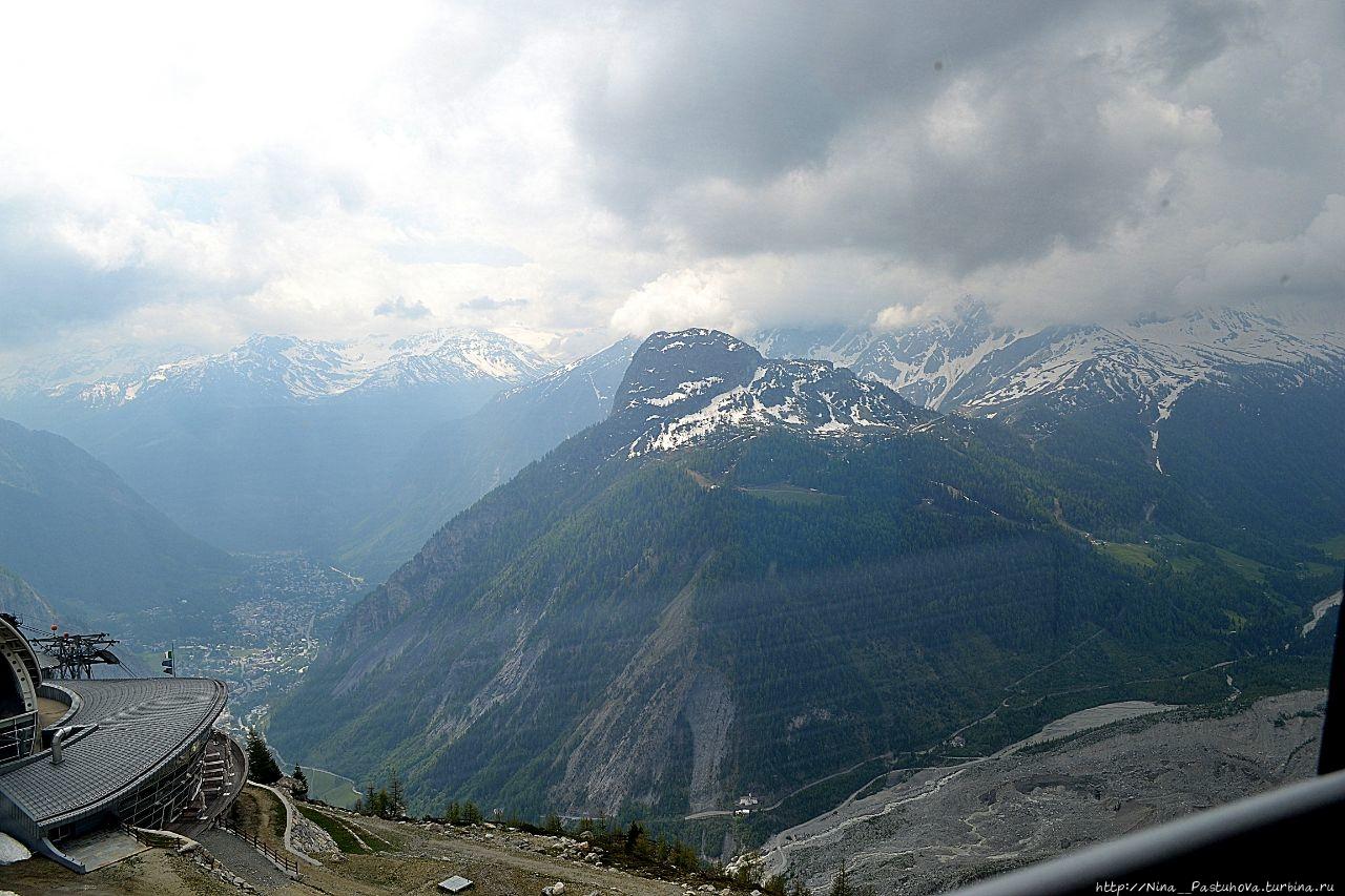 Канатная дорога SkyWay Monte Bianco Курмайор, Италия