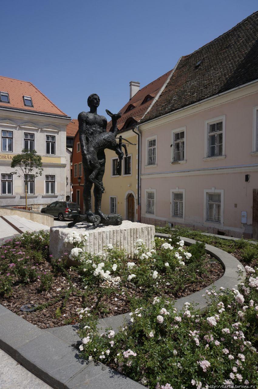 Статуя св.Эгидия