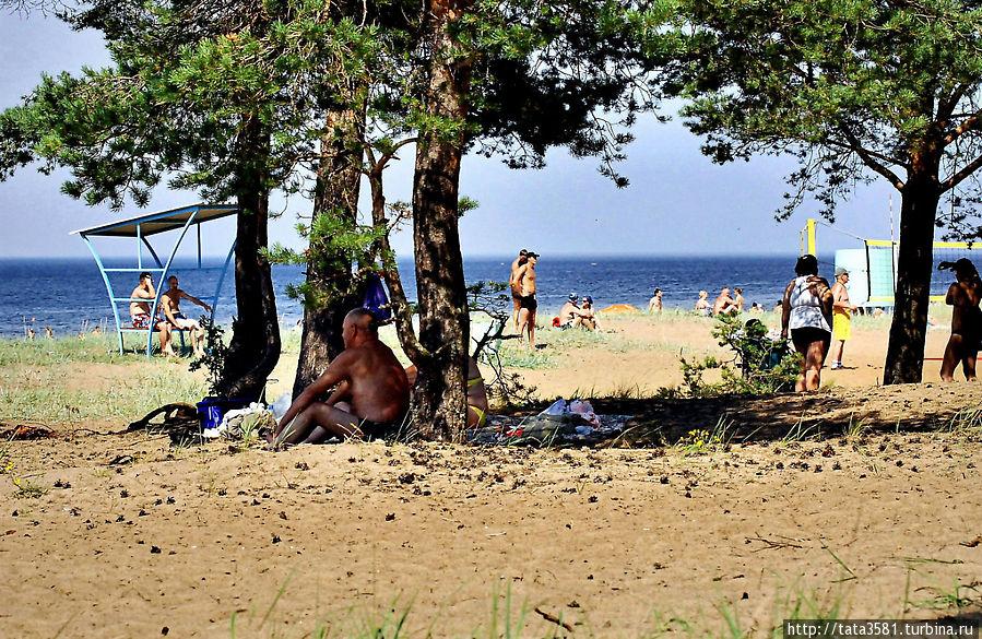 пляж липово фото участия многочисленных