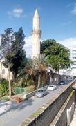 Минарет Большой (Бюйюк) мечети в Ларнаке.
