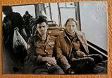 я и командир Лариса в автобусе в Новом Уренгое