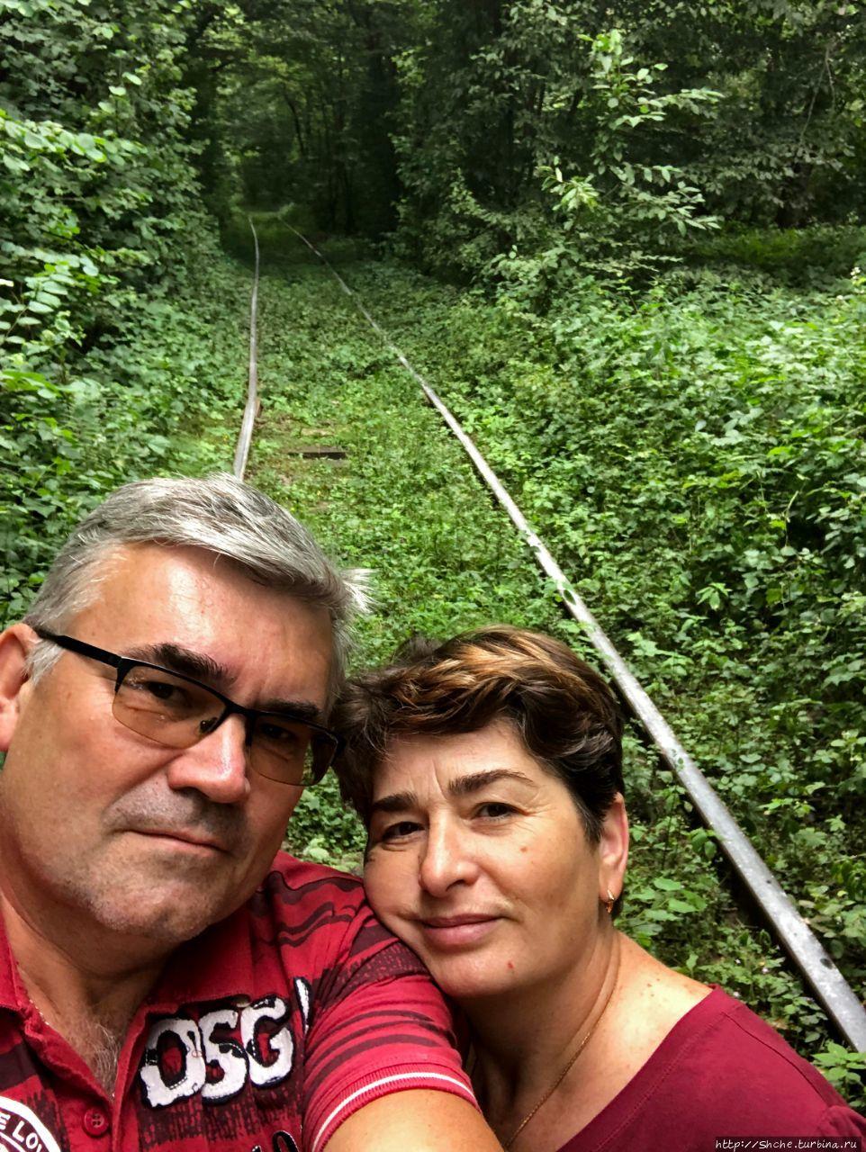Тоннель любви Оржев, Украина