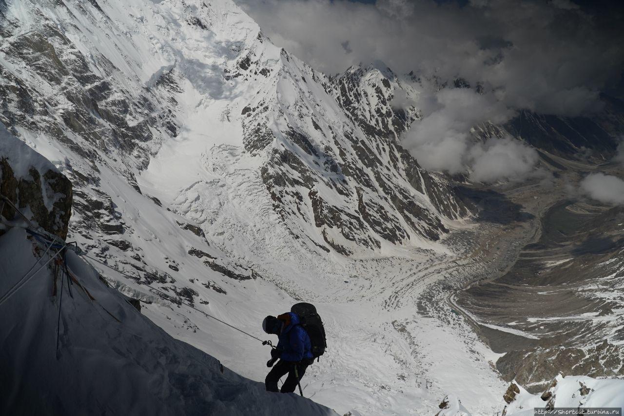 «ФРИРАЙД В ЗОНЕ СМЕРТИ». НАНГА ПАРБАТ, 8125 м. Съемка фильма Гора Нанга-Парбат (8,126м), Пакистан
