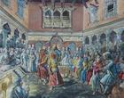 Смерть короля Пратап Маллы (худ. Hari Prasad Sharma). Из интернета