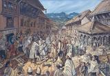 Сцена приезда непальского архитектора Арнико в Китай. Из интернета