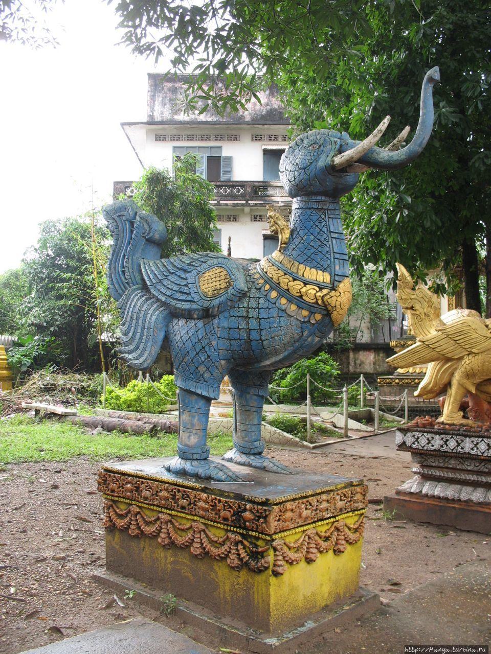 Храм Ват Си Муанг Вьентьян, Лаос