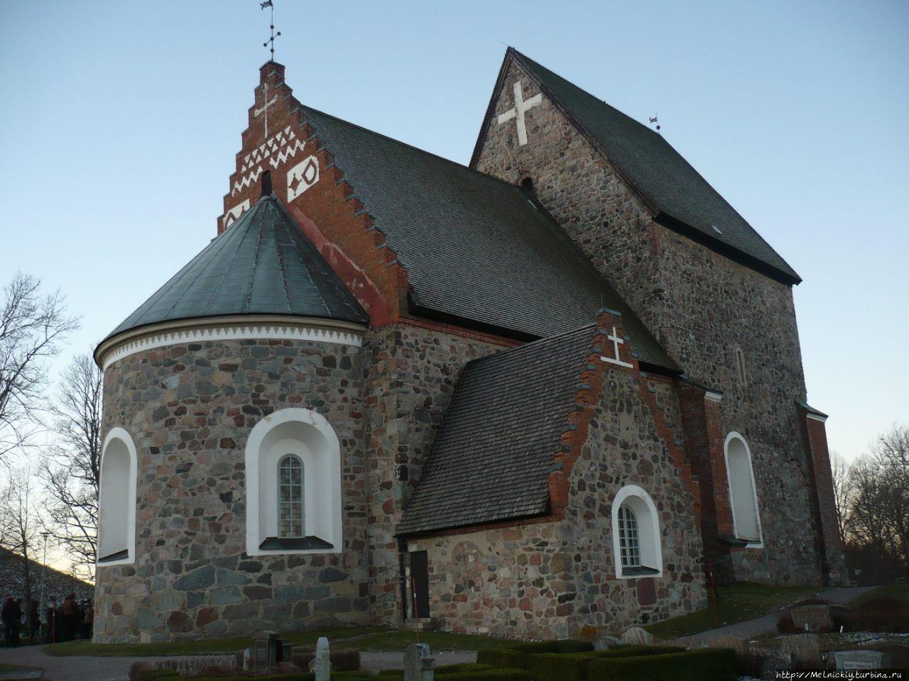 Лютеранская кирха Старой Уппсалы Уппсала, Швеция