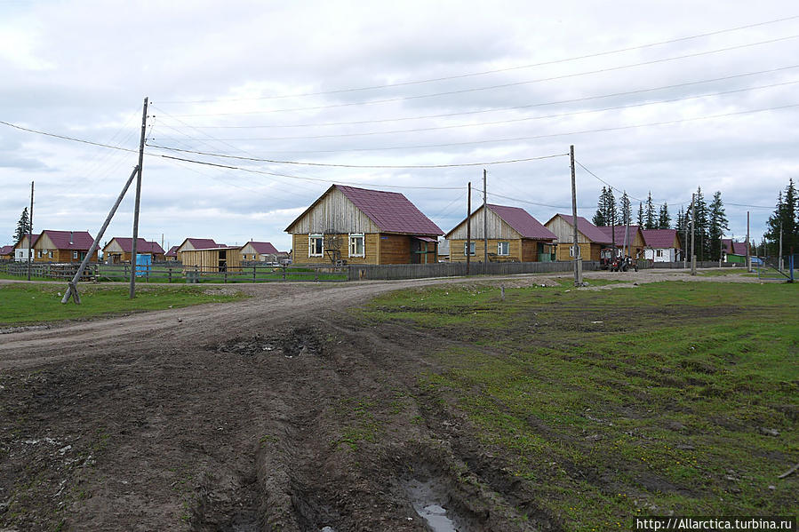 якутская деревня фото единственное