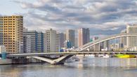 Мост Цукидзи через реку Сумида, фото из интернета.