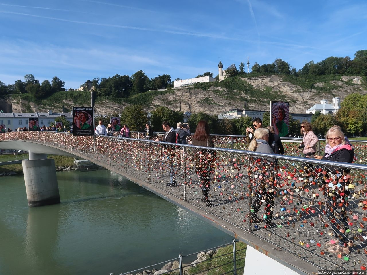 Пешеходный мост Makarsteg
