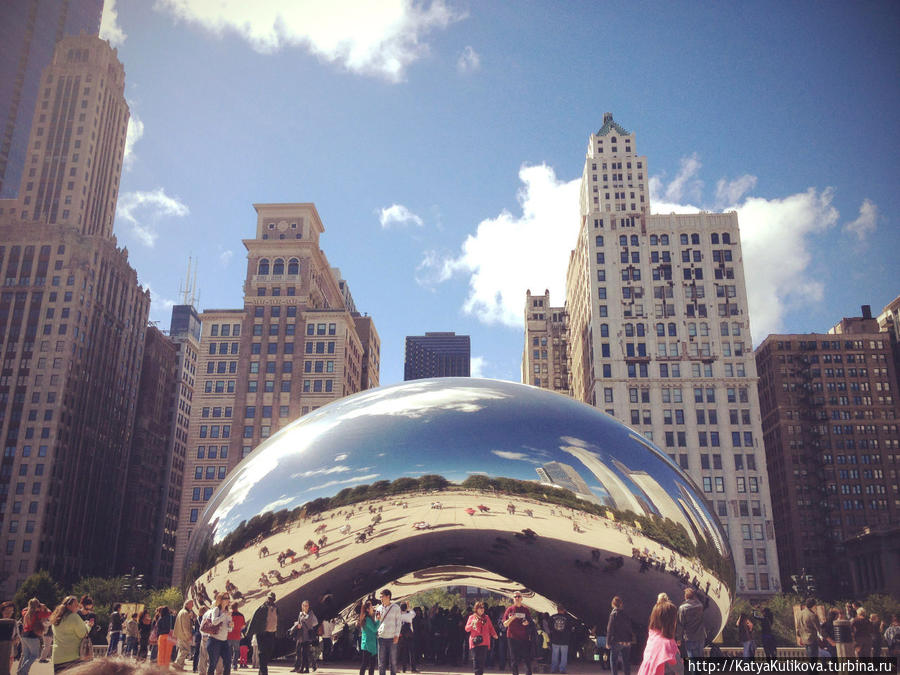 Cloud Gate by Anish Kapoor (Облачные врата Аниш Капур)