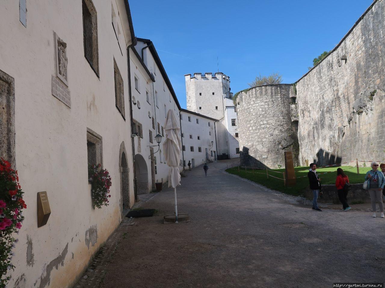 Крепость была ранее тюрьм
