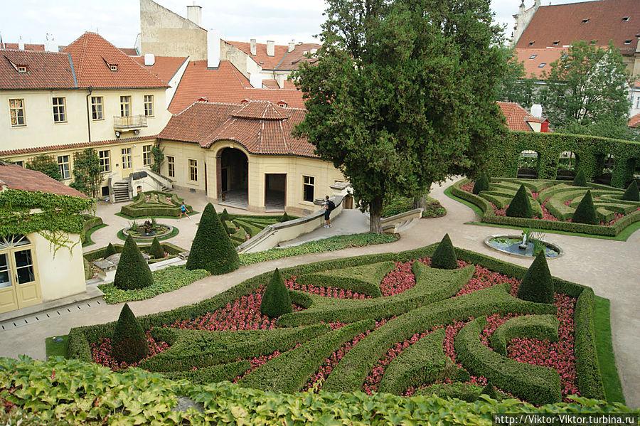 зато всех чехия фото королевских садов в пражский тыква долго хранится