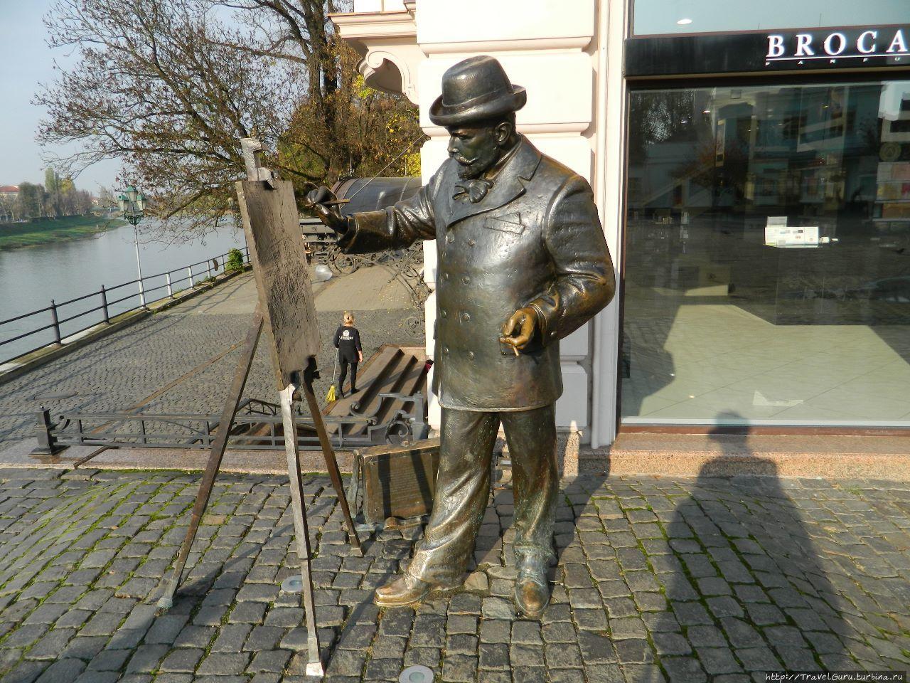 Скульптура местного худож