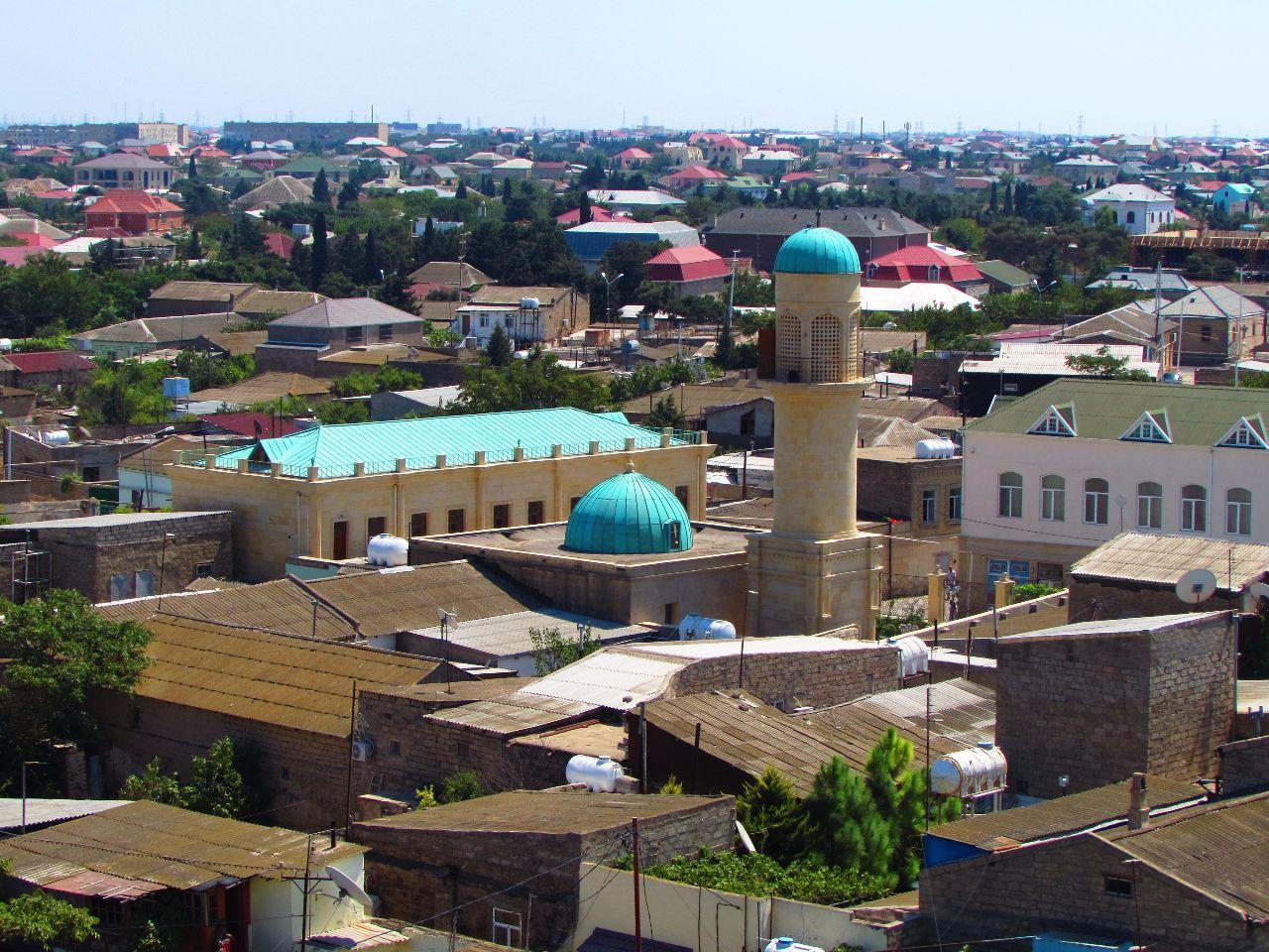 Показать фото района мардакяны в городе баку
