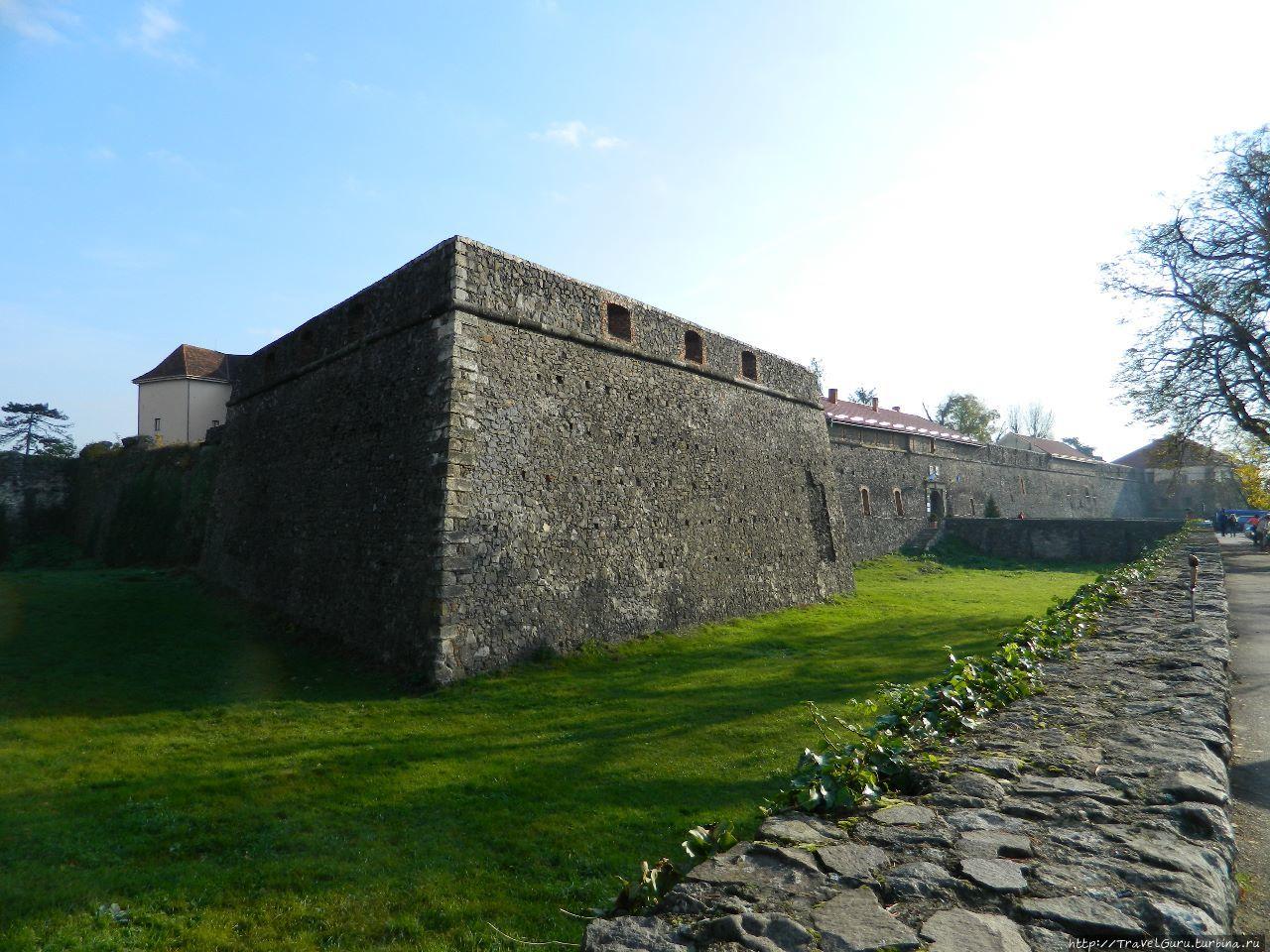 Бастионы Ужгородского зам