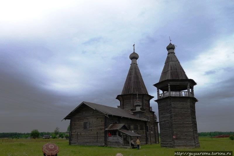 Церковь Иоанна Златоуста Саунино Саунино (Кипрово), Россия