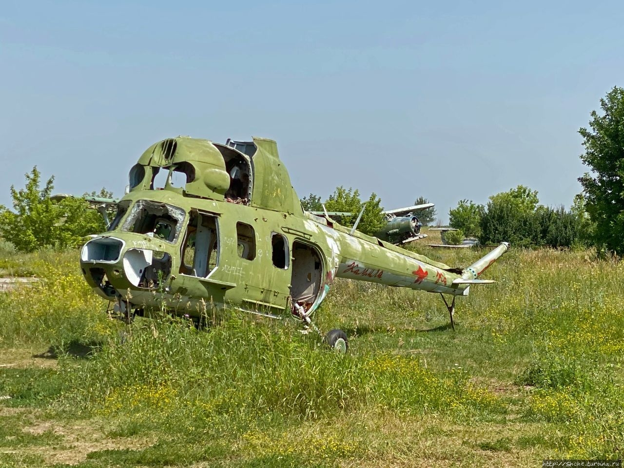 Старый аэродром ДОСААФ Волчанск, Украина