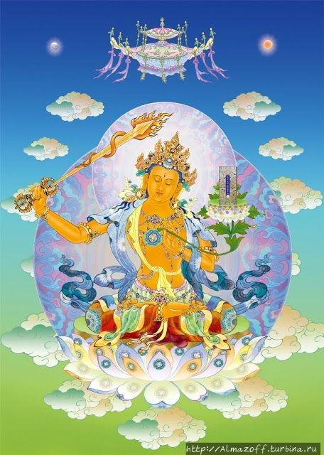 Бодхисаттва Манджушри, ти