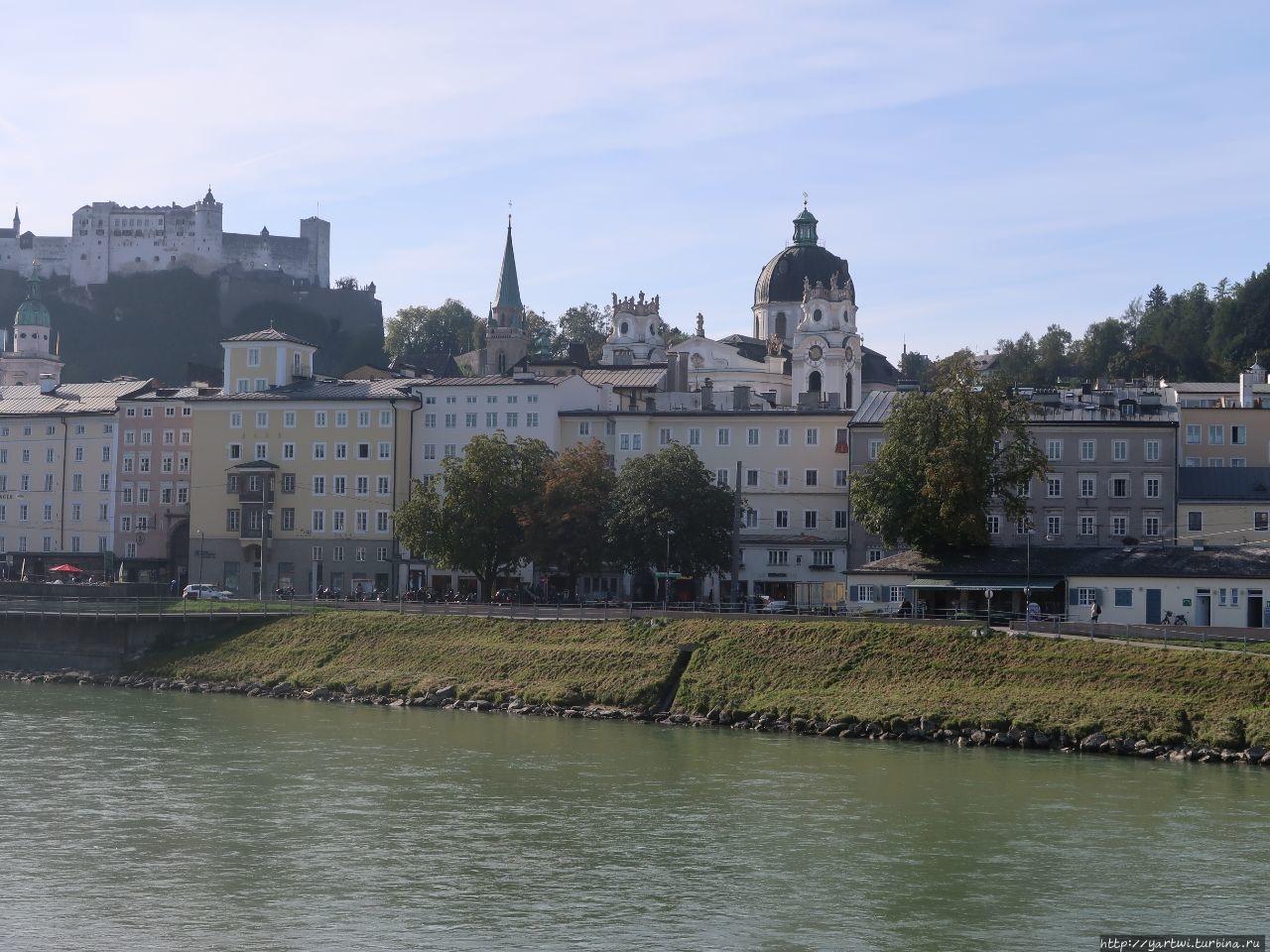 Вид на крепость Хоензальц