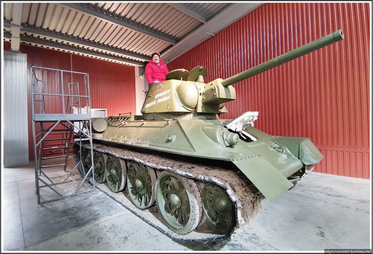Огнемётный танк ОТ-34-76