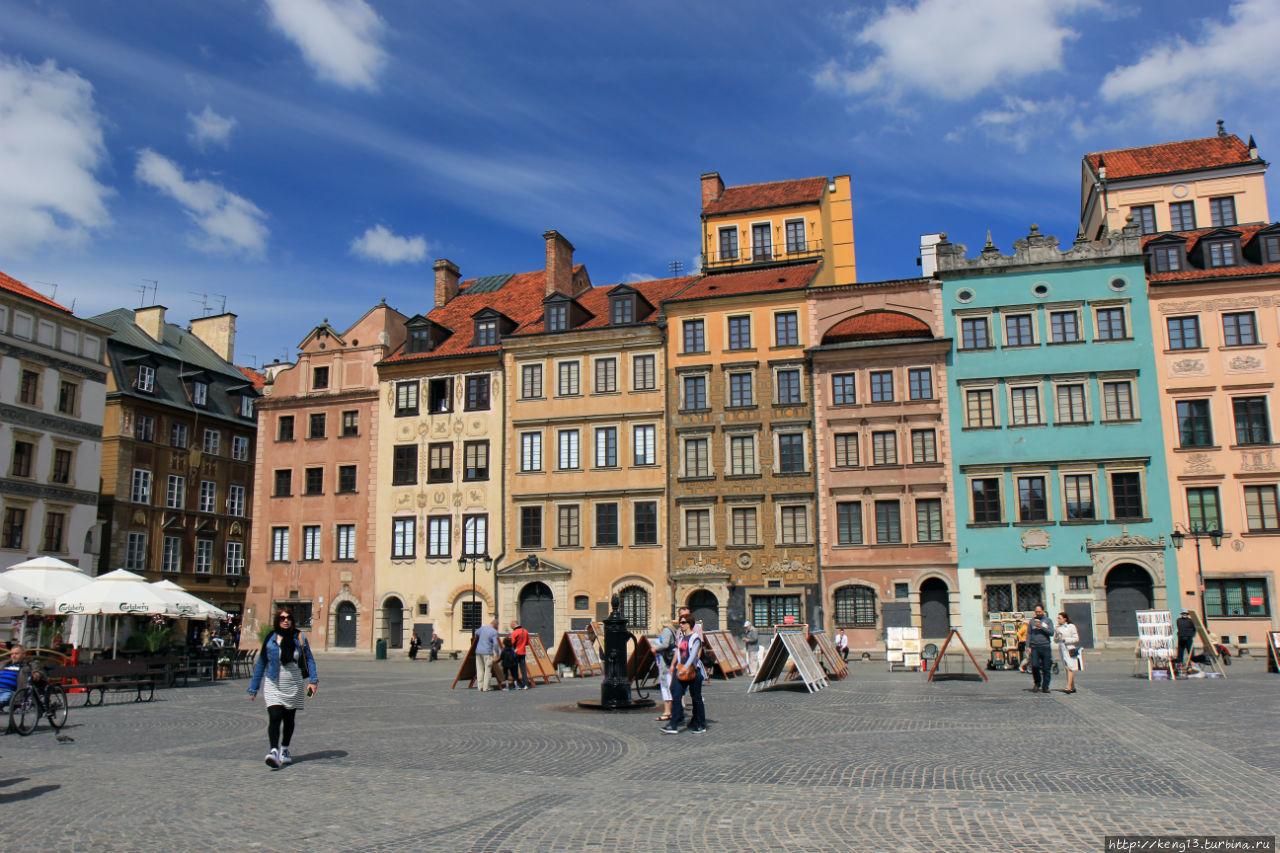 Варшава фото туристов