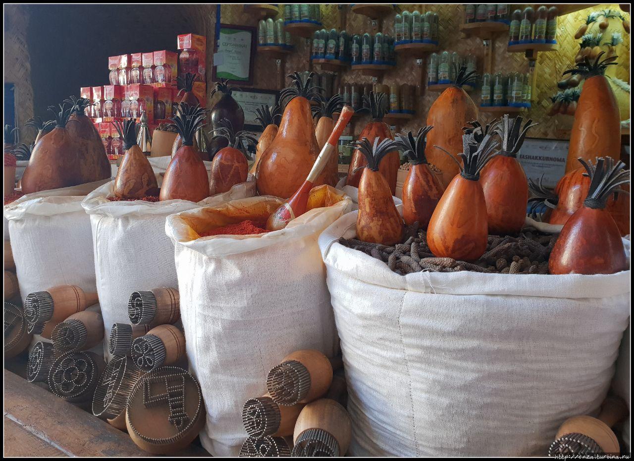 Специи и тыквы, из которы