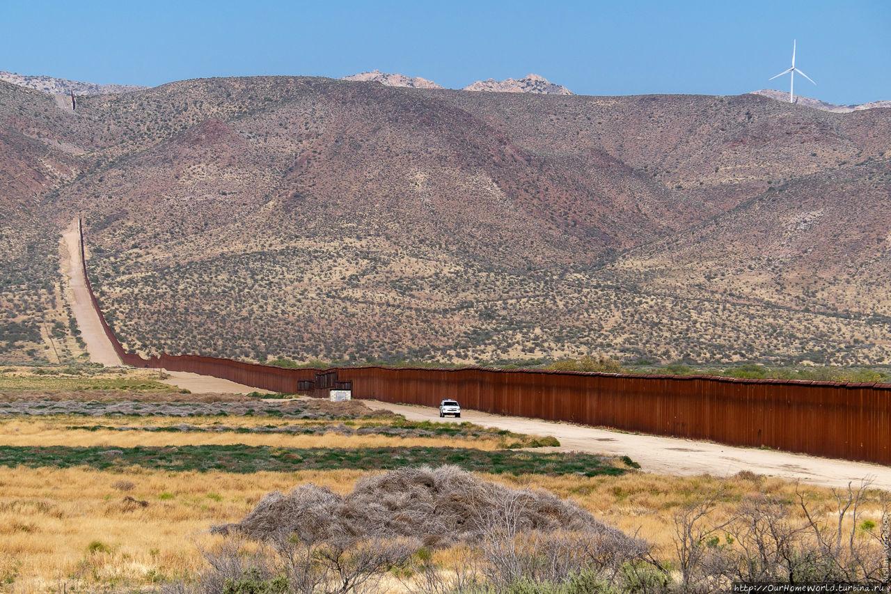 Gives mexico arizona strip