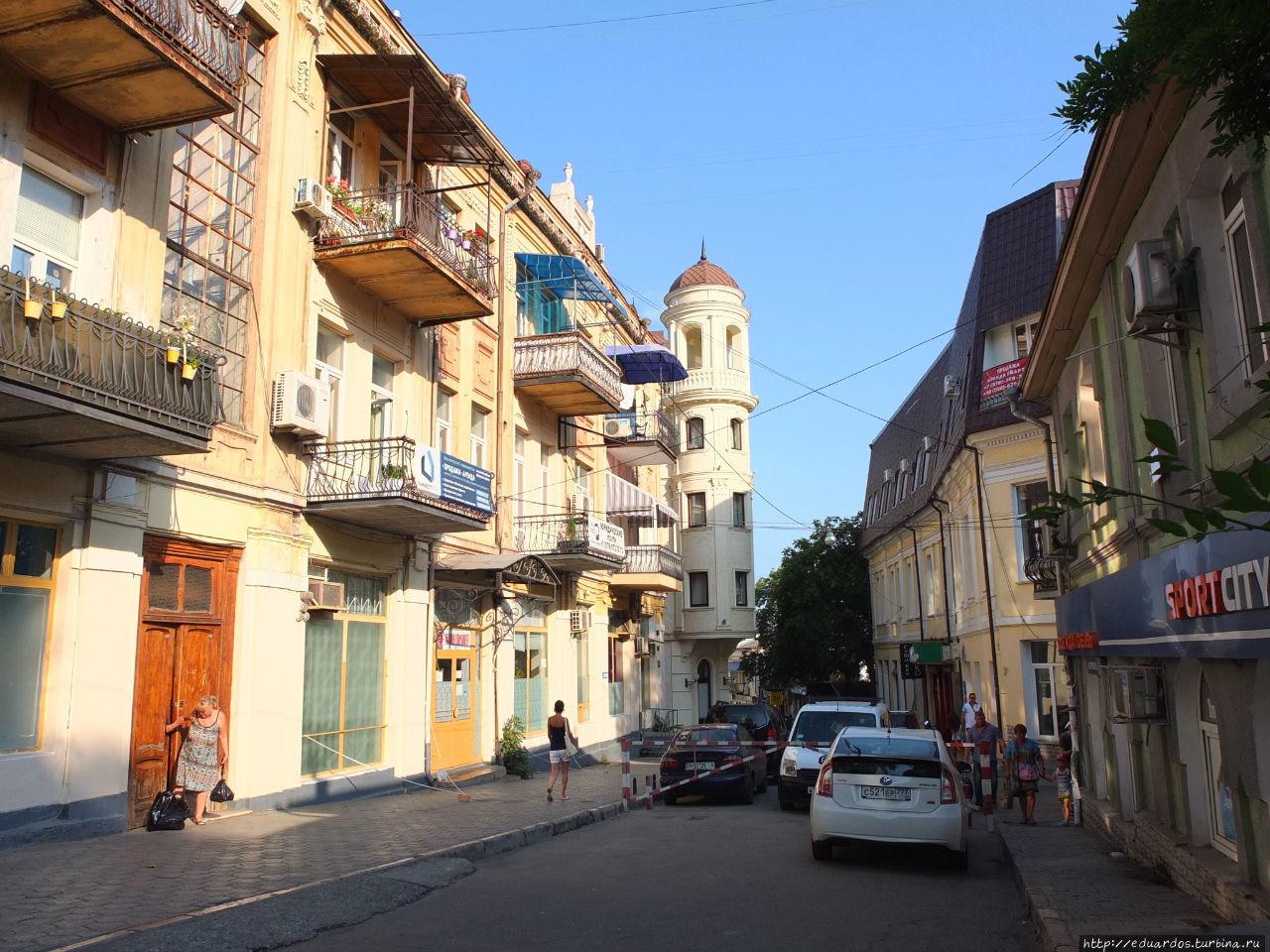 ялта фото улиц города актёры российского драматического