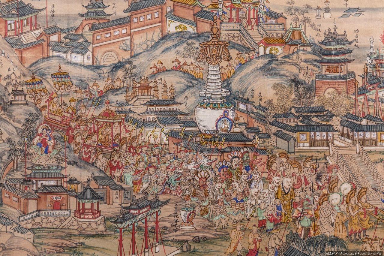 Панорамная карта Утайшаня