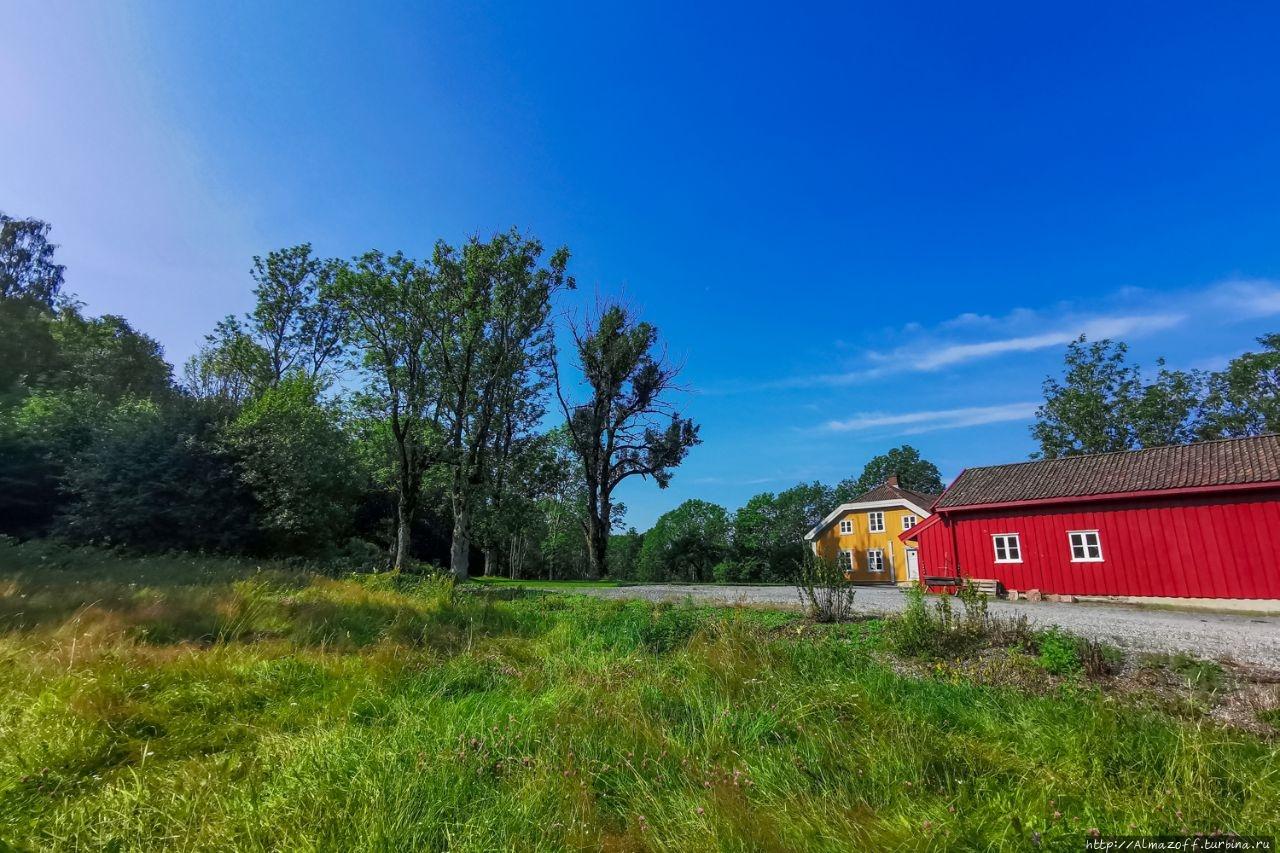 Милые сердцу и глазу окраины норвежской столицы Хеггедаль, Норвегия