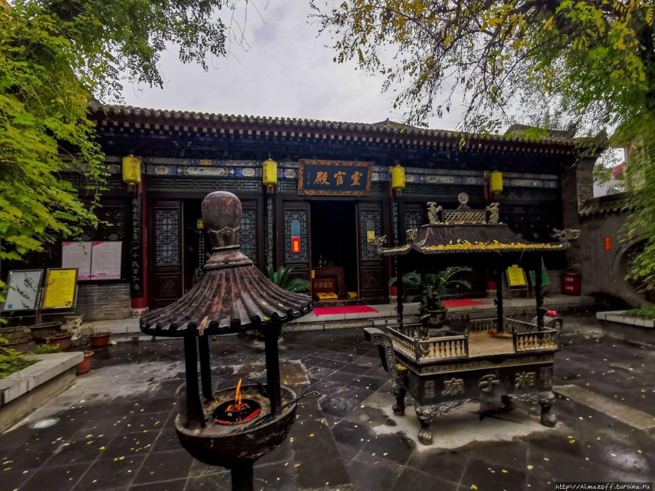 Даосский храм Xiangzi Сиань, Китай