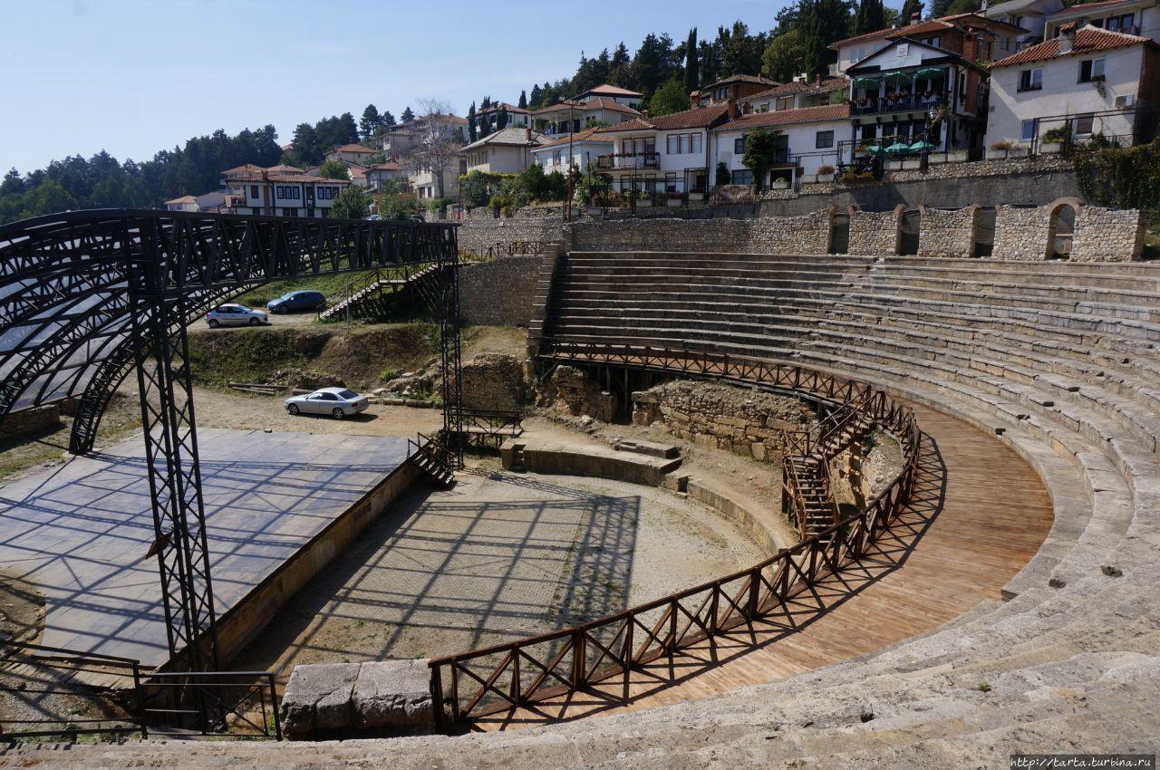 Самый красивый город Македонии Охрид, Македония