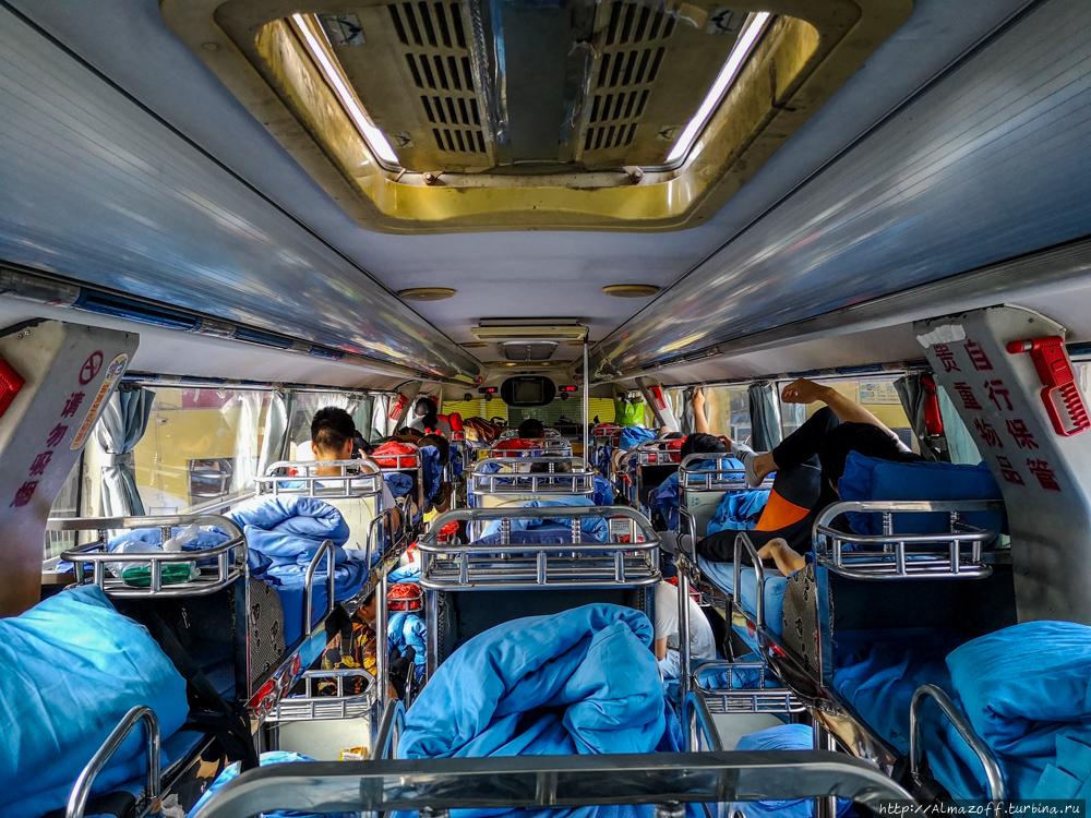 Бесконечный день по ремонтируемой дороге вдоль Салуина Лиуку, Китай