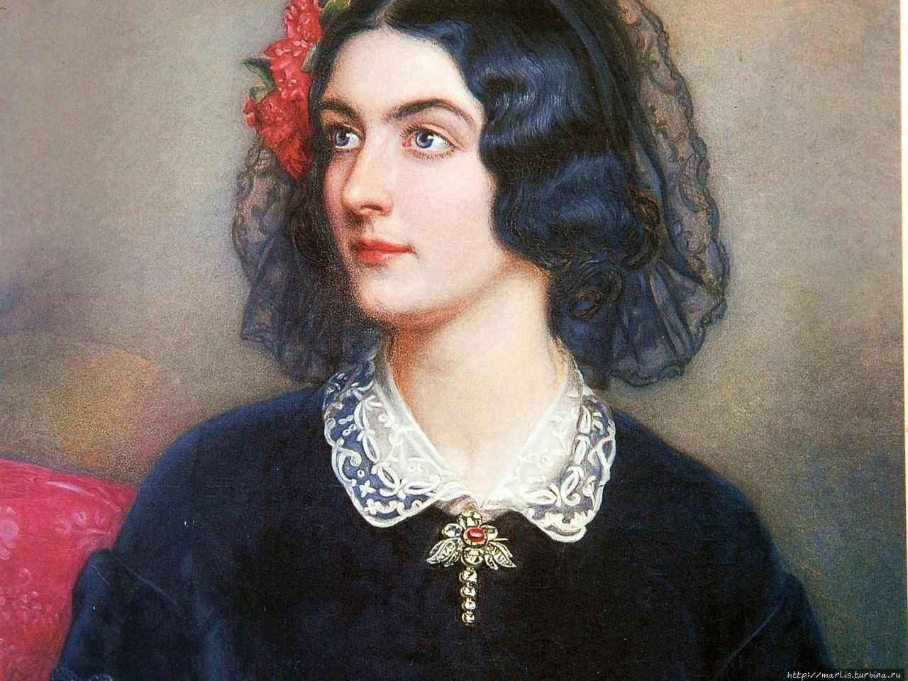 Портрет Лолы Монтес, 1847