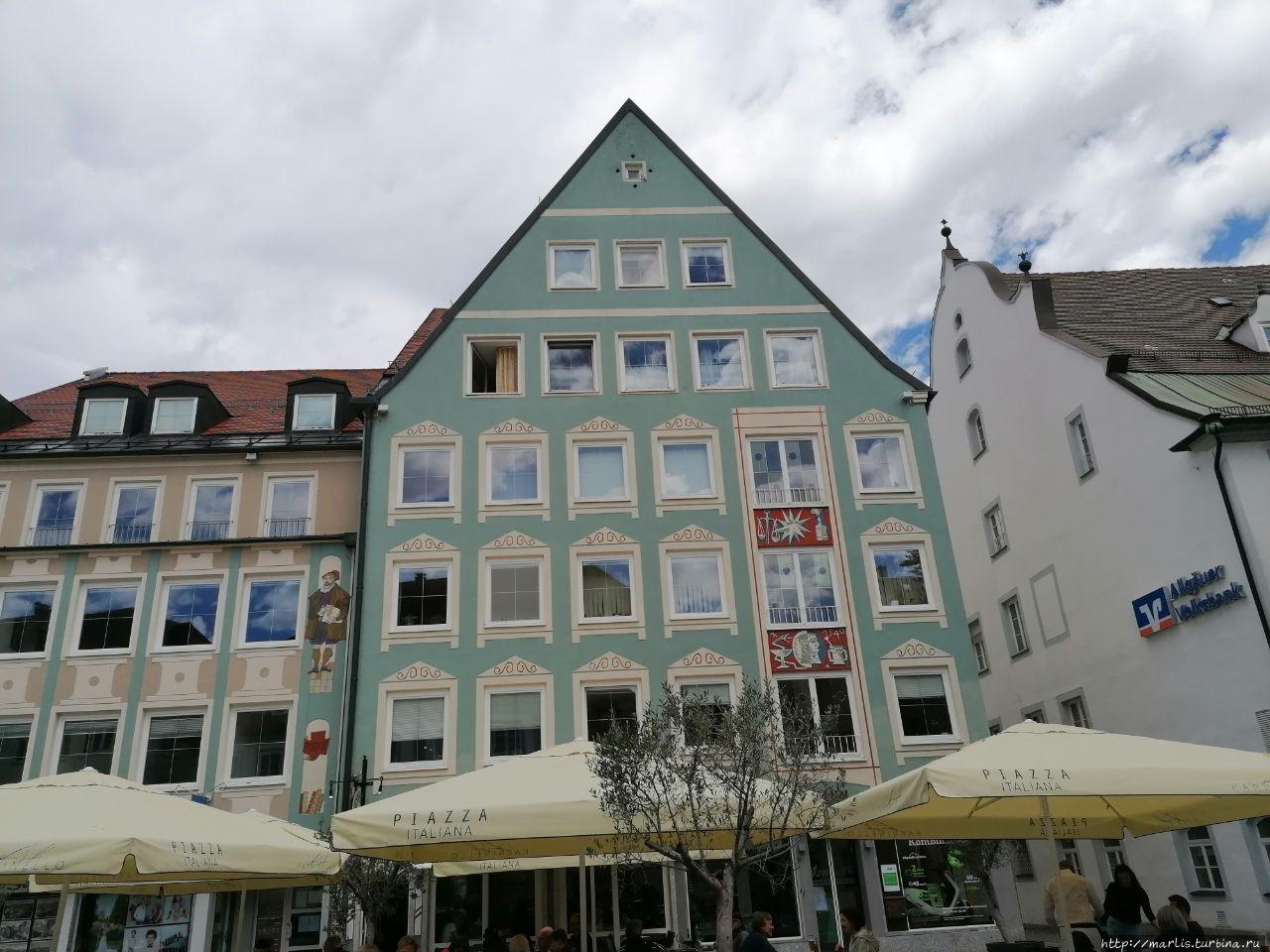 Городская ратуша Кемптен, Германия