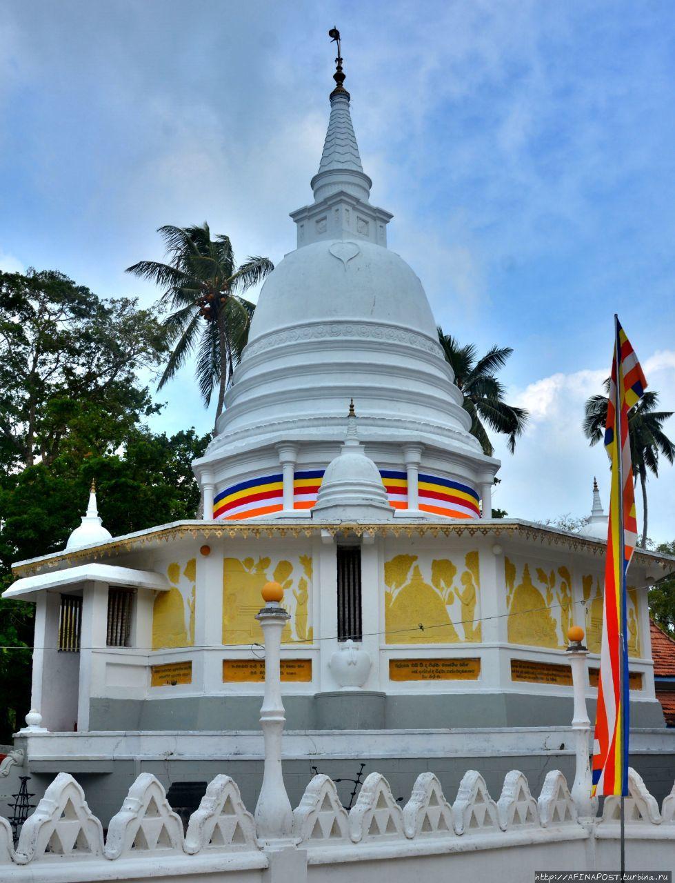 Шри Пушпарама Маха Вихарая (Наяка Пансала) Балапития, Шри-Ланка
