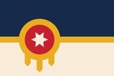 Флаг города Талса
