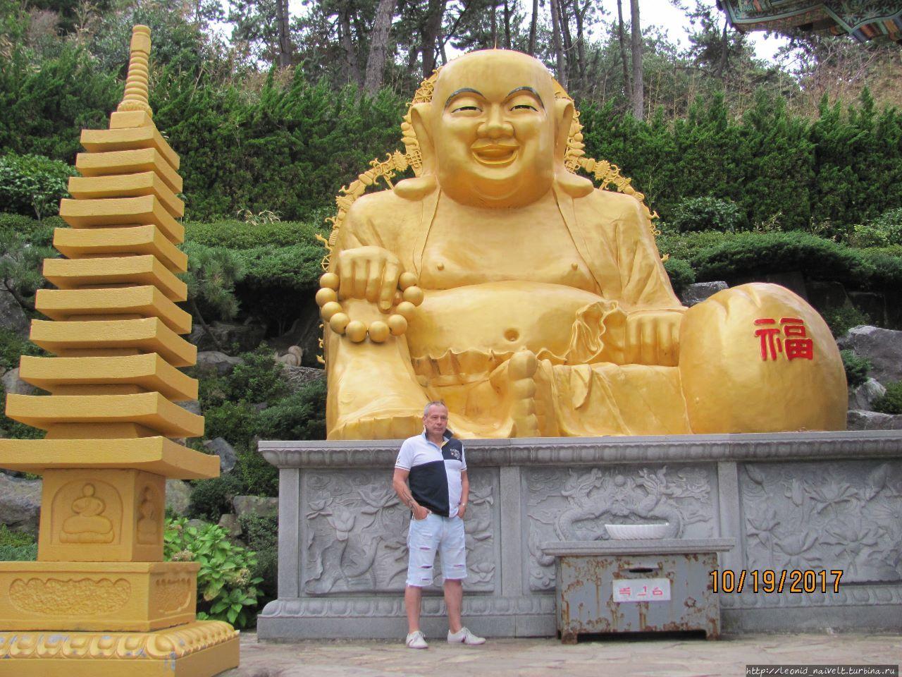 Киджан. Храмовый комплекс Хаедонг Йонггунг, Пусан, Республика Корея
