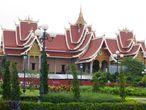 Буддийский конференц-зал Дхаммасабха  в комплексе Ват Тхат Луанга