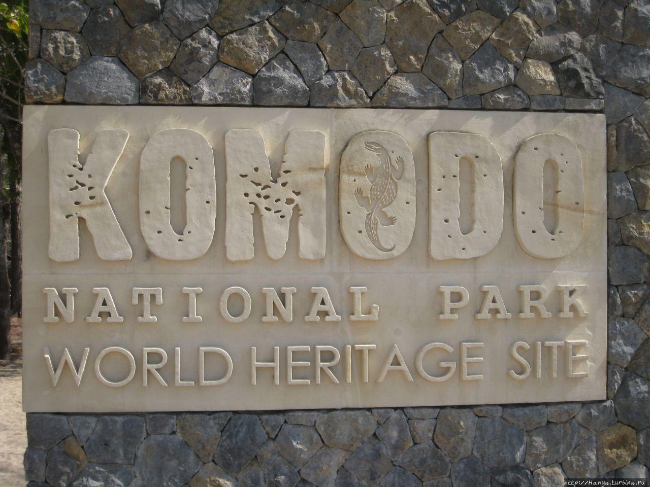Остров Комодо Комодо Национальный Парк, Индонезия
