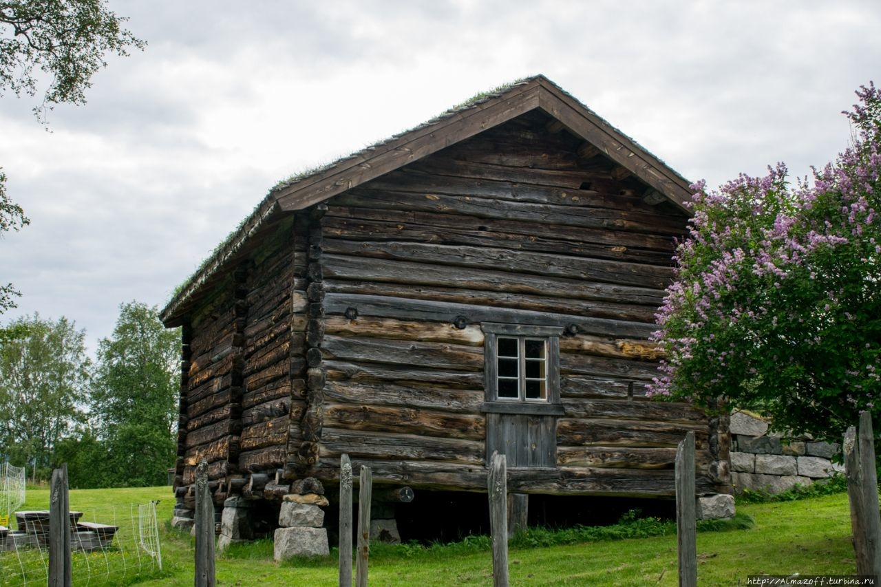 Музей традиционной норвежской архитектуры и быта Гейло, Норвегия