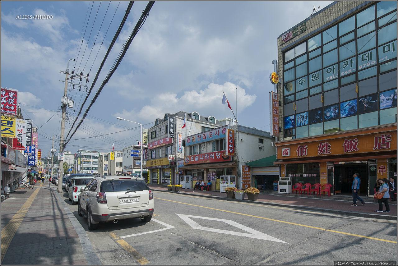 Фото улиц сувона южная корея