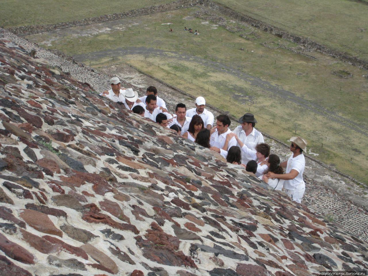 Пирамида Солнца. Медитаци