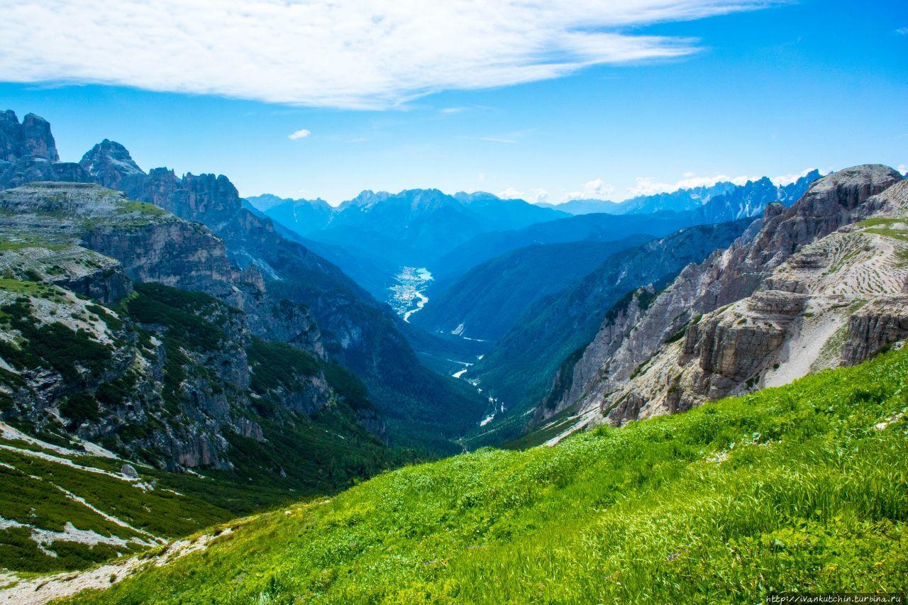 Вокруг трех вершин Тре-Чиме-ди-Лаваредо, Италия