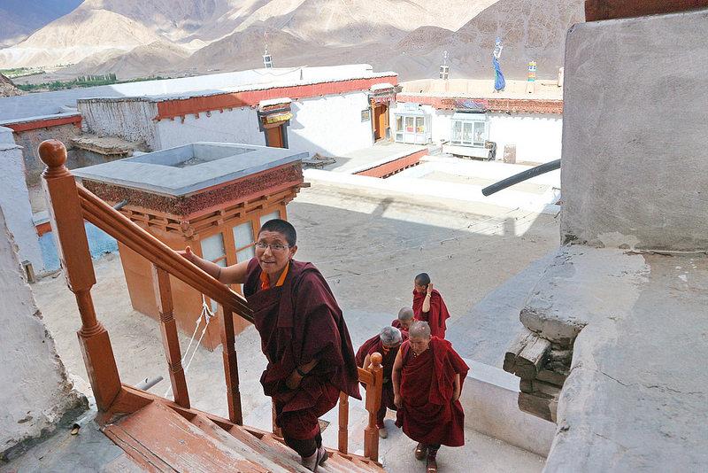 Как я совершила кражу в буддийском монастыре Лех, Индия