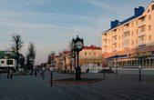 Пешеходная улица Притыцкого в центре городе, названная в честь борца за объединение страны Сергея Притыцкого