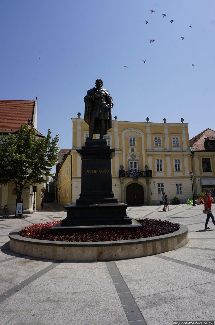 Памятник венгерскому драм