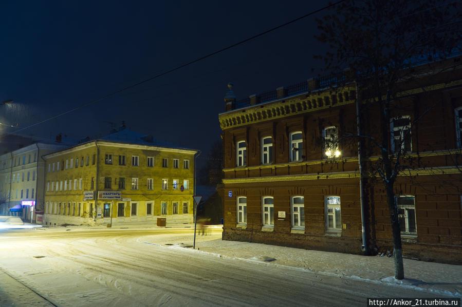 фото зимний вечер в кирове видно