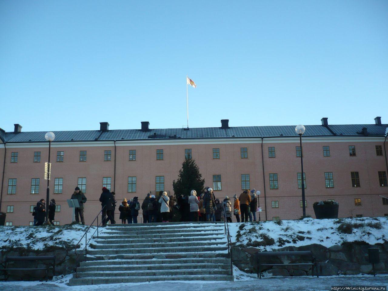 Уппсальский замок Уппсала, Швеция